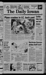 Plane crashes in I.C back yard