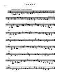 Tuba major scales.pdf - NCSBands