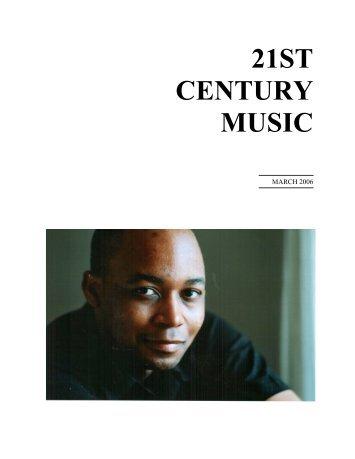 Tod Machover - 21st Century Music