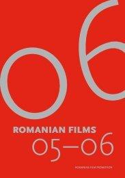 Catalog Filme Romanesti 2006 - Romanian Film Promotion