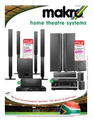 home theatre systems - Makro