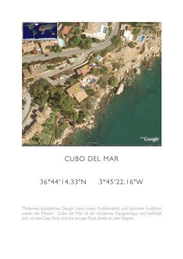 """CUBO DEL MAR 36°44'14.33""""N 3°45'22.16""""W"""