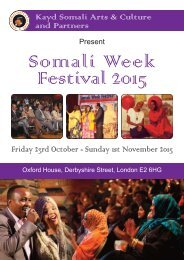 Somali Week Festival 2015