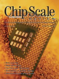 Wafer-Level Test Design for Reliability - Chip Scale Review