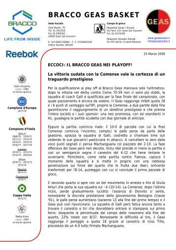 BRACCO GEAS BASKET