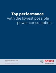 Top performance with the lowest possible power consumption