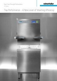 Top Performance – A New Level of Washing Efficiency