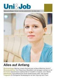 Alles auf Anfang - Stellenmarkt von sueddeutsche.de
