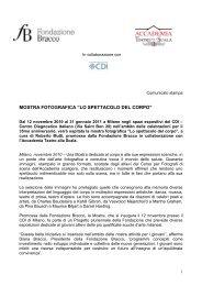 """MOSTRA FOTOGRAFICA """"LO SPETTACOLO DEL CORPO"""""""