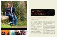 Acting globAlly - University of Washington Foster School of Business