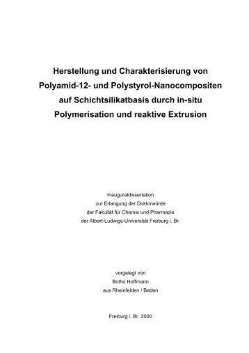 Herstellung und Charakterisierung von Polyamid-12- und Polystyrol ...