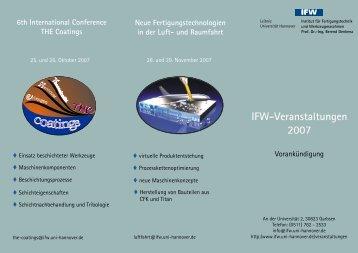 ngs ita - IFW - Leibniz Universität Hannover