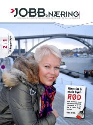 Jobb & Næring #10 2010 - Haugesundregionens Næringsforening