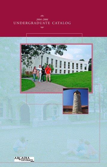 Pre-Professional Program International Peace ... - Arcadia University