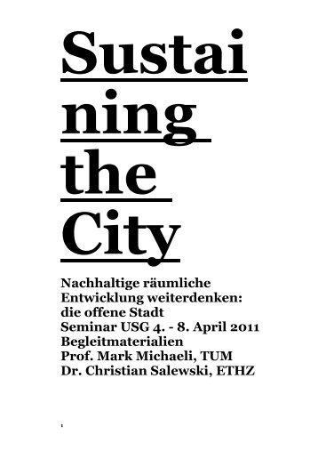 Verstädterte Landschaft - professur für architektur und städtebau ...