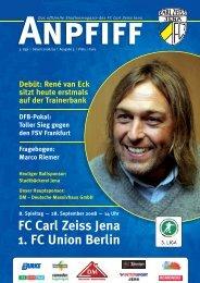 FC Carl Zeiss Jena 1. FC Union Berlin