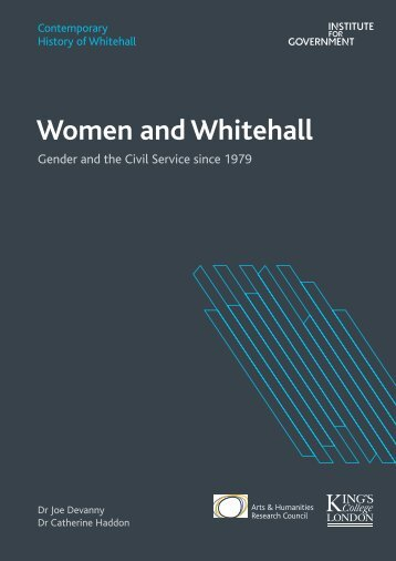 Women and Whitehall