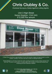 Unit 3 High Street £12,500 Per annum