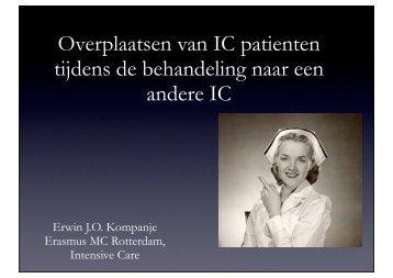 tijdens de behandeling naar een andere IC