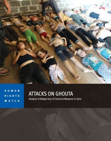 ATTACKS ON GHOUTA