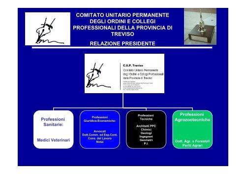 ASSEMBLEA DEGLI ASSOCIATI C.U.P TREVISO 28.04.10