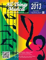 The Music Education Yellow Pages Resource Guide - Things Musical