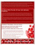 New Cranberry Health Research Results - Page 2