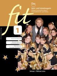 Sport- und Freizeitmagazin Januar • Februar 2012 - Freiburger ...
