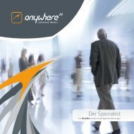 Download Firmenbroschüre - Anywhere.24