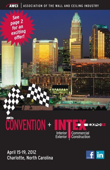 April 15-19, 2012 Charlotte, North Carolina - AWCI