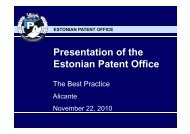Estonian Patent Office