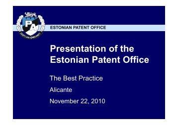 Estonian Patent Office