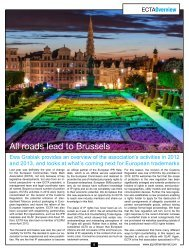 All roads lead to Brussels
