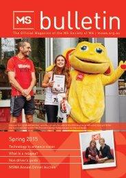 Bulletin Magazine Spring 15