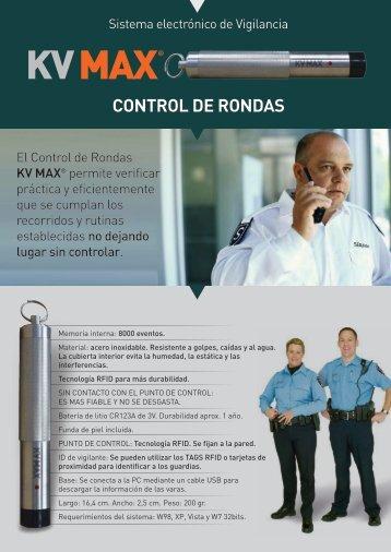CONTROL DE RONDAS