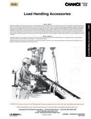 Load Handling Accessories