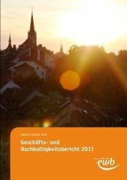Geschäfts- und Nachhaltigkeitsbericht 2011