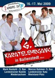Karatelehrgang