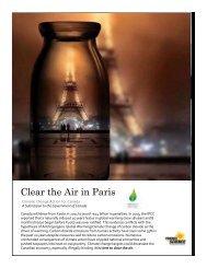 Clear the Air in Paris
