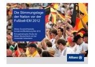 Die Stimmungslage der Nation vor der Fußball-EM 2012