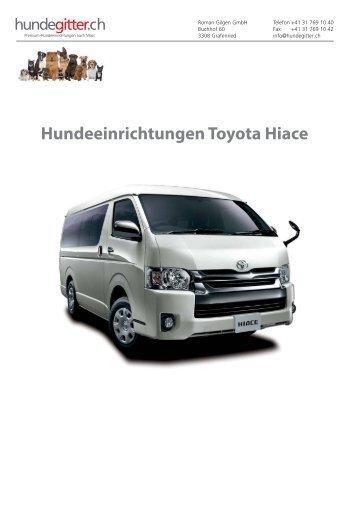 Toyota_Hiace_Hundeeinrichtungen
