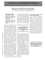 Respeto - KU ScholarWorks - University of Kansas