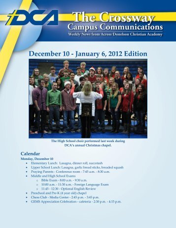 December 10 - January 6 2012 Edition