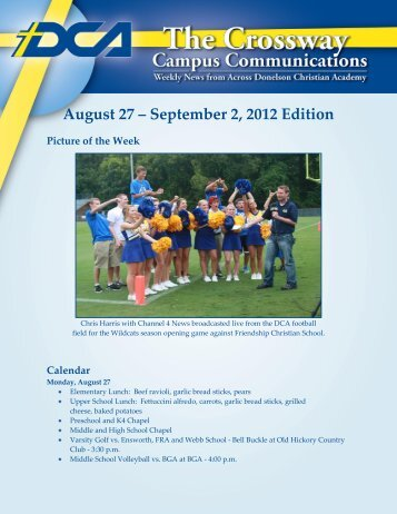 August 27 – September 2 2012 Edition