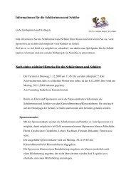 Informationen für die Schülerinnen und Schüler - Drost-Rose ...