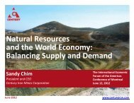 Natural Resources and the World Economy Balancing Supply and Demand