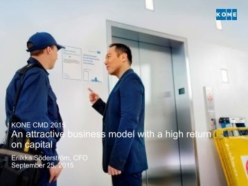 An attractive business model with a high return on capital