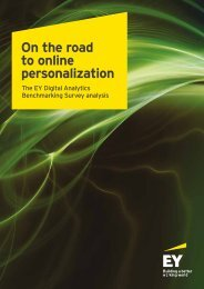On the road to online personalization