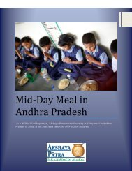 Mid-day Meal in Andhra Pradesh