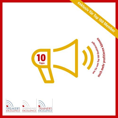 Die Speakers Excellence PR Fibel 2016